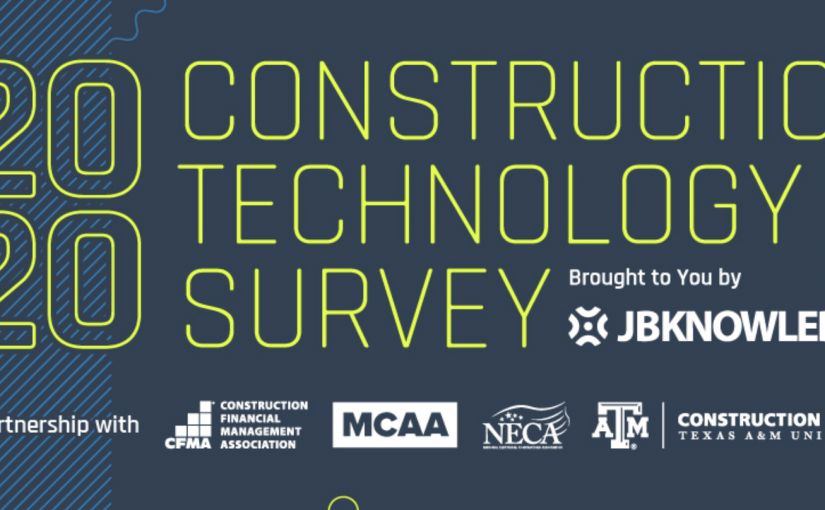 2020 Construction Technology Report Challenges Contractors Innovation