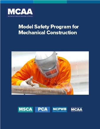 Model Safety Program for Mechanical Construction