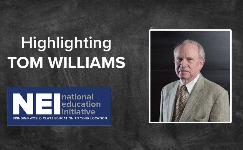 Highlighting NEI Instructor Tom Williams