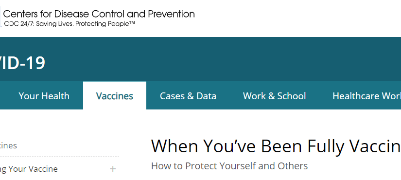 Are Vaccinated Workers Exempt From COVID-19 Infection Control Measures?