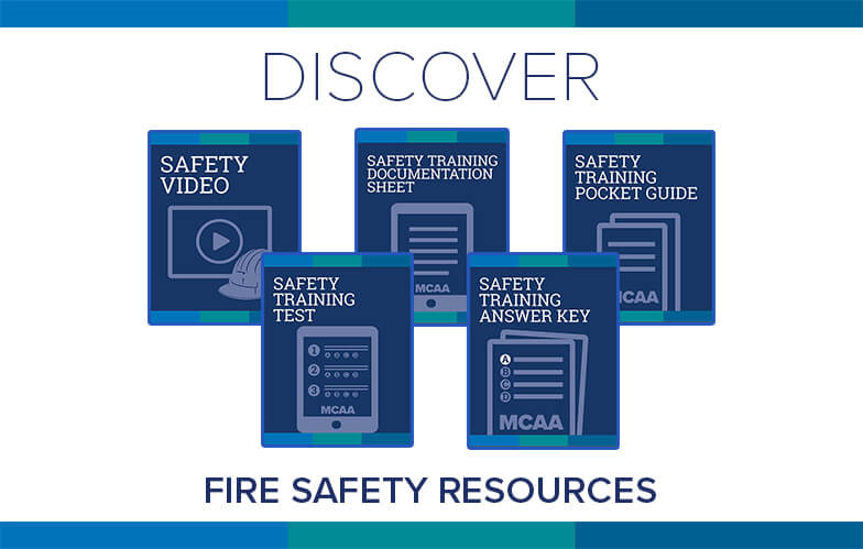 Resource Highlight: MCAA's Fire Safety Training Video & Accompanying Materials