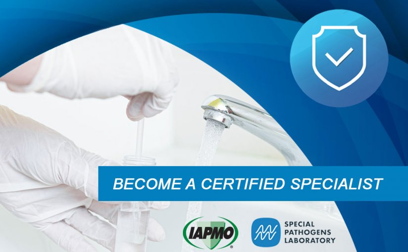 IAPMO & SPL Offer ASSE 12080 Legionella Water Safety and Management Specialist Certification Training