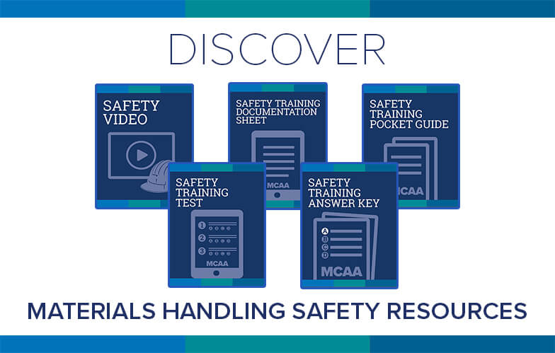 Resource Highlight: MCAA's Inspecting Materials Handling Equipment Safety Training Video & Accompanying Materials