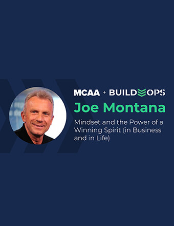 June 17th Webinar with Joe Montana on Mindset and the Power of a Winning Spirit (in Business and in Life)
