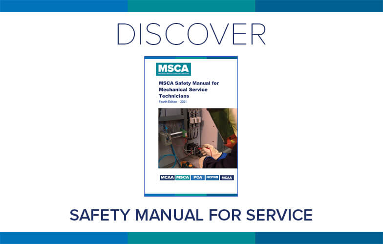 Resource Highlight: MCAA's Safety Manual for Mechanical Service Technicians