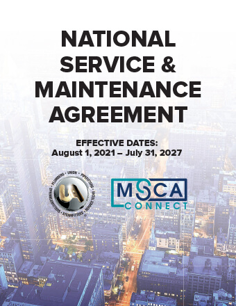 National Service and Maintenance Agreement